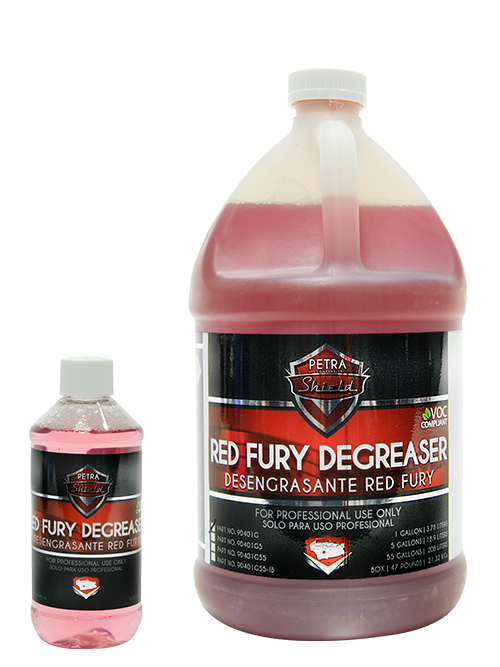 PN 9D401 Red Fury Degreaser VOC