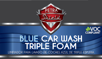 PN 9D107G55 Blue Car Wash Triple Foam VOC