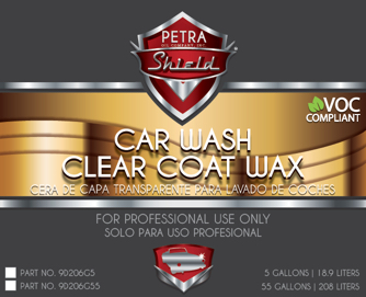 PN 9D206G55 Car Wash Clear Coat Wax VOC
