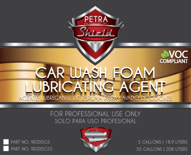 PN 9D205G55 Car Wash Foam Lubricating Agent VOC
