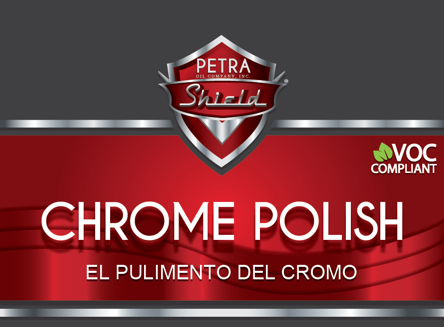 PN 9D411-8 Chrome & Metal Polish VOC