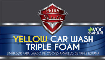 PN 9D104G55 Yellow Car Wash Triple Foam VOC