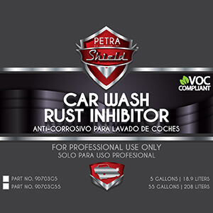 PN 9D703G55 Car Wash Rust Inhibitor